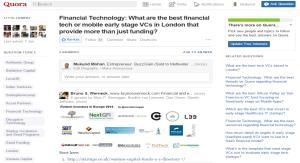 Quora for Investing Advice