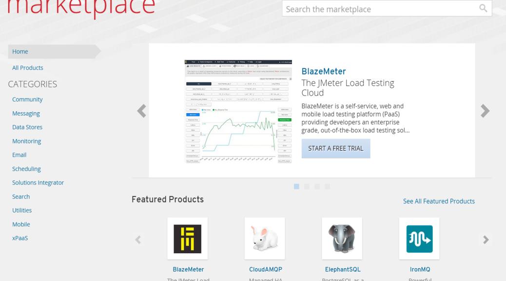 OpenShift Marketplace Brokerge Service