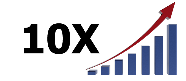 10X Growth and funding
