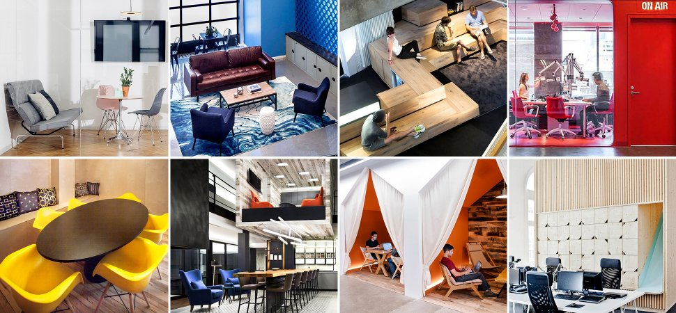How much does office space and your work environment for Best office design in the world